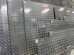 Лист алюминиевый рифленый АД0 (1050) 4. 0х1500х3000мм