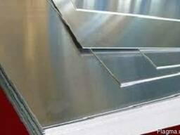 Лист алюминиевый 8х1000х2000мм гладкий