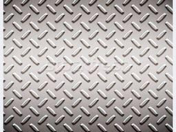 Алюмінієвий лист рифлений 1,0х1000х2000 мм 1050 Н24