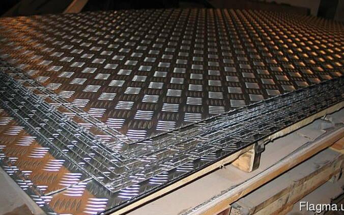 Алюминиевый лист рифленый 2,5 мм наличие купить