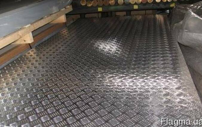 Лист алюминиевый рифленый квинтет