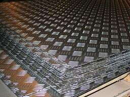 Лист алюминий рифленый т. 2 купить цена качество порезка