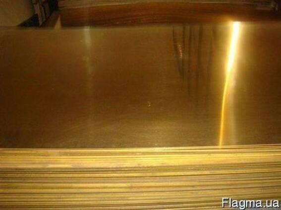 Бронзовый лист БрОФ 2х600х1500