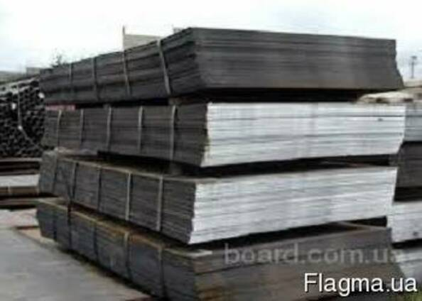 Лист стальной 2-180 мм ст 3, 20, 45, 09Г2С, 40Х, 65Г, 30ХГС