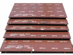 Лист сталь Hardox 550 т. 10 мм