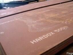 Лист износостойкий Хардокс 450 4мм порезка купить цена