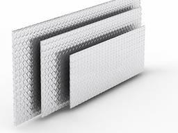 Алюмінієвий лист рифлений 3,0х1000х2000 мм 1050 Н24