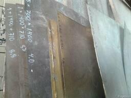 Лист латунь 2,5х600х1490мм