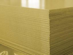 Лист латунный 0, 4мм мягкий Л63 купить, цена,