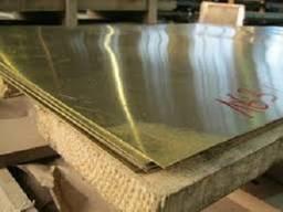 Лист лента плита латунная Л63 ЛС59 недорого со склада