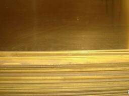 Лист Латунный 2х600х1500мм Л63