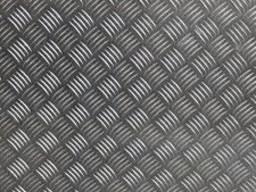 Алюминиевый лист рифленый 5х1250х2500 амг3
