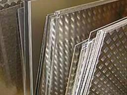 Алюминиевый рифленный лист 1.5 мм, 2.0 мм, 3.0 мм
