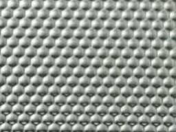 Лист нерж. 304 0,8 (1,25х2,5) лён PVC