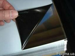 Лист нерж. 304 0,5 (1,0х2,0) BA PVC