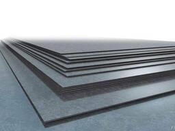 Лист нержавеющий 0.5 мм 1,25х2,5 AISI 430 2В/РI