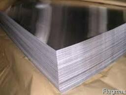 Лист нержавеющий 0. 5 мм 1000х2000. AISI 316L 2В/РІ