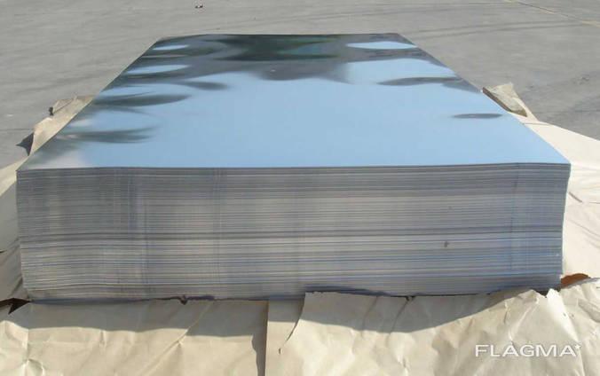 Лист титановый новый толщина от 1 мм