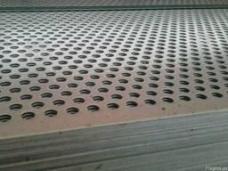 Перфорированный лист (перфолист) алюминий нержавеющий