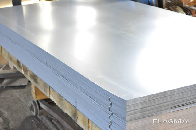 Алюминиевый лист гладкий 0.8x1000x2000.