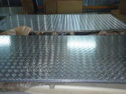 """Алюминиевый лист рифленый """"Квинтет"""" 2x1250x2500"""