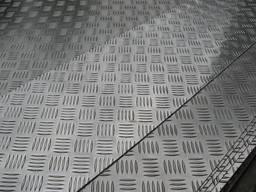 Лист стальной рифленый чечевица оптом и в розницу