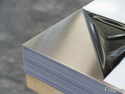 Лист нержавеющий технический 0,8мм AISI 430 12х17 магнитный