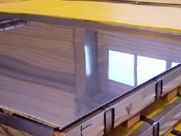 Лист нержавеющий зеркальный 2х1000х2000 12Х18Н10Т(AISI 321)