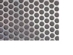 Перфорированный, нержавеющий лист ф 0, 5 мм, 1х1000х2000 мм