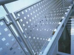 Перфорированные листы черная сталь ф5,0х5,0мм отверстие
