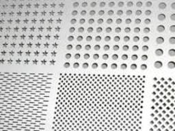 Перфорированный лист стальной толщ. 0, 75-3мм Декоративный