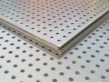 Перфорированный лист ф3 мм, 0,75х1000х2000 мм, оцинк. цена, - фото 1