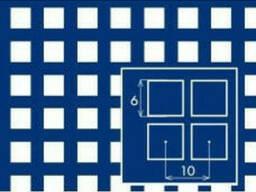 Лист перфорованний PC Qg6-10/1/1000x2000