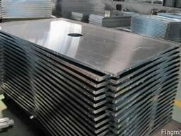 Лист, плита алюминиевый Д16(2024) 16х1520х3020 мм