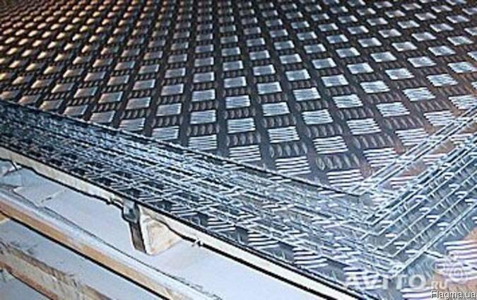 Лист рифленый 1,0 2B AISI 304 стали, 1,2, 1,5, 2,0, 3,0, 4,0