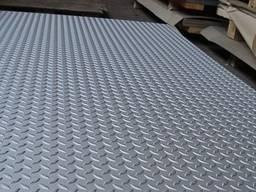 Лист рифленый 3x1250x2500 чечевица, лист стальной купить, Рифленый лист Рифленую сталь
