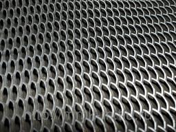 Лист стальной просечно-вытяжной толщина 3/4мм размер 1х2м