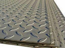 Лист стальной рифленый 4. 0х1260х6000мм цена гост