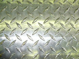 Лист стальной рифленый ГОСТ 8568-77; 08кп 3, 0х 1500х6000