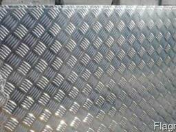 """Листы алюминиевые рифленые """"Квинтет"""" сплав 1050"""