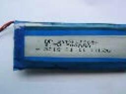 Литий-полимерный аккумулятор 4*28*65mm (Li-ion 3.7В 700мА·ч)