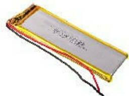 Литий-полимерный аккумулятор 4*30*85mm 3,7V (Li-ion 3.7В 1000мА·ч)