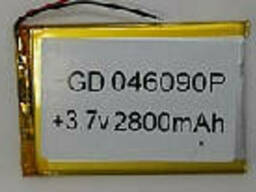 Литий-полимерный аккумулятор 4*60*90mm (Li-ion 3.7В 3500мА·ч)