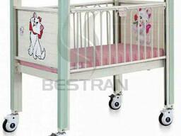 Ліжечко дитяче рівне BT-AB111 Праймед