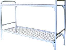 Ліжко двоярусне з металевими спинками 1900*800. Материал: метал