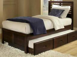 """Ліжко підліткове """"Том"""" з ящиками"""