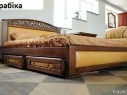 Ліжко з масиву дерева Арабіка