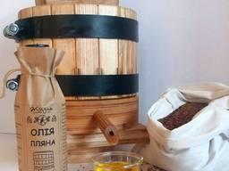 Льняное масло с деревянного пресса 0, 5л
