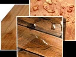 Льняное масло с воском для отделки срубов, деревянных домов.