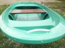 Лодка гребная стеклопластиковая Лагуна -М длина 3.5 метра.Лу